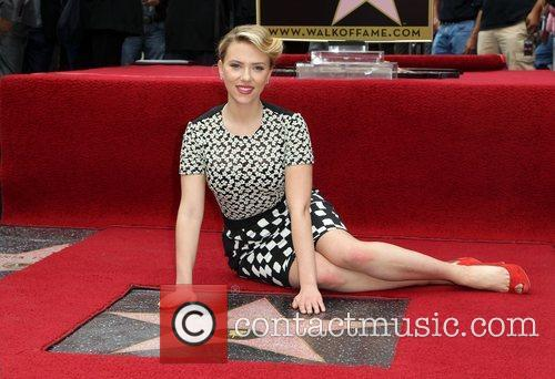 Scarlett Johansson and Star On The Hollywood Walk Of Fame 19
