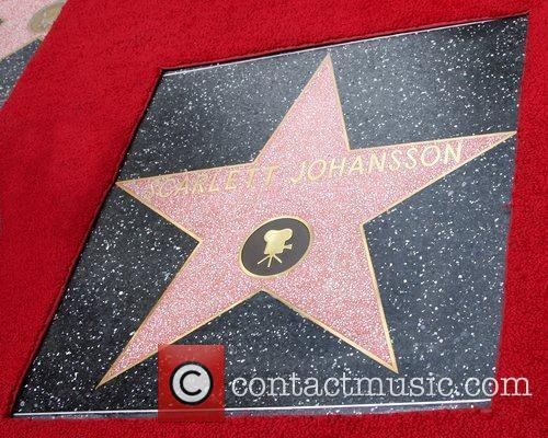 Atmosphere, Scarlett Johansson and Star On The Hollywood Walk Of Fame 1