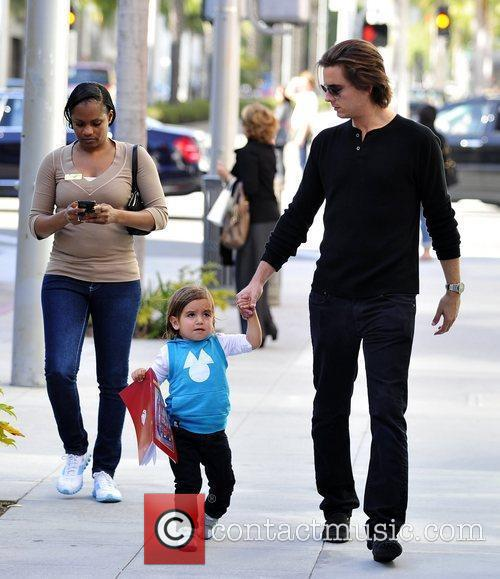 Scott Disick and Mason 3