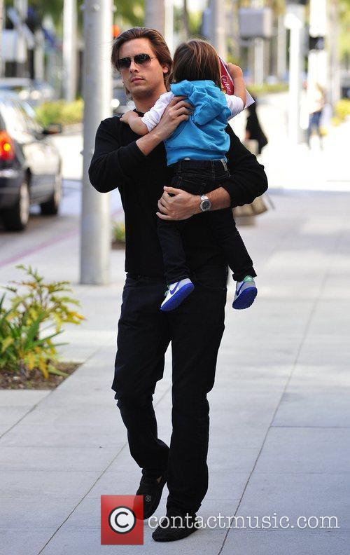 Scott Disick and Mason 8