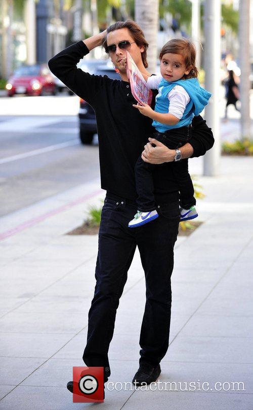 Scott Disick and Mason 1