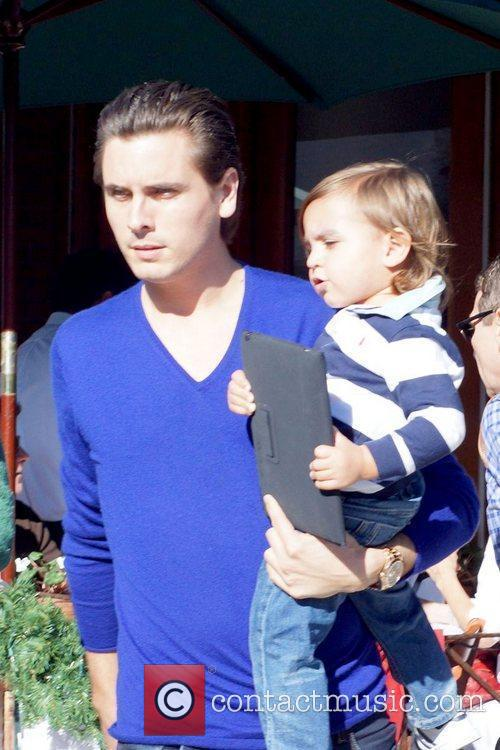 Scott Disick and Mason 9