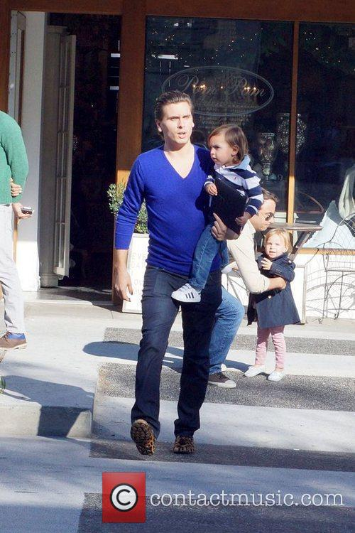 Scott Disick and Mason 6