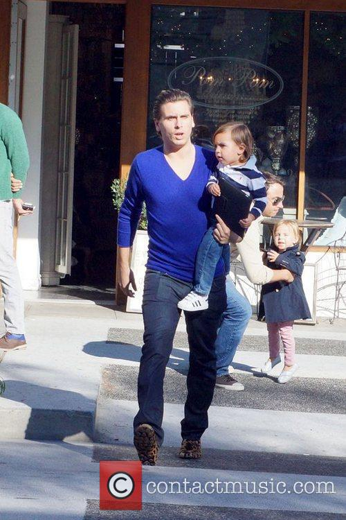 Scott Disick and Mason 11