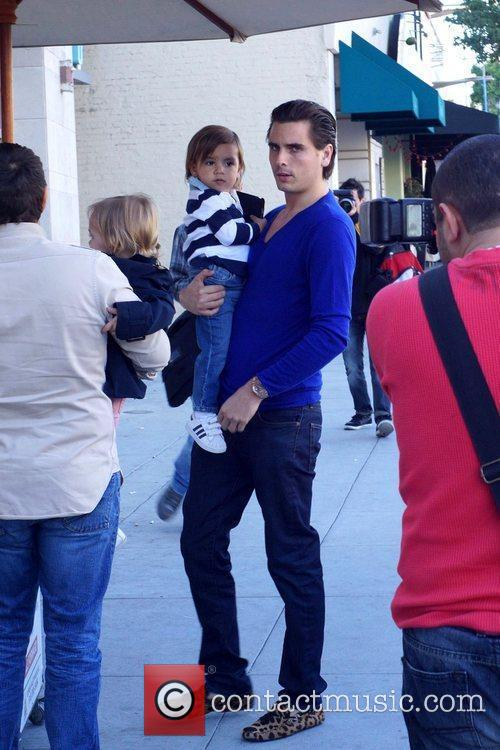 Scott Disick and Mason 10