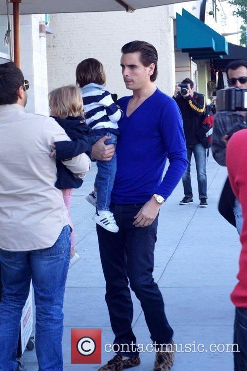 Scott Disick and Mason 2