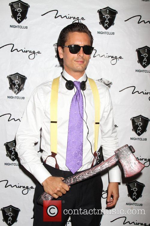 Scott Disick, American Psycho, Halloween Event, Nighclub, Mirage Hotel and Casino 3