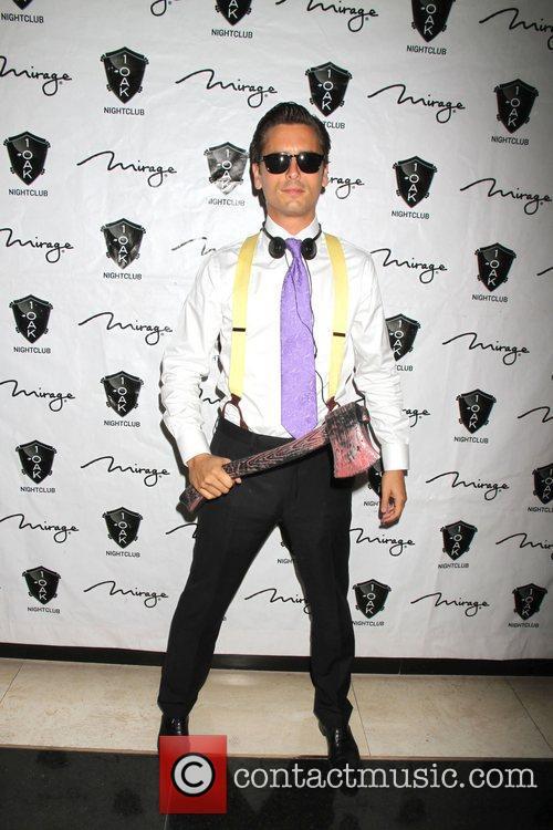 Scott Disick, American Psycho, Halloween Event, Nighclub, Mirage Hotel and Casino 9