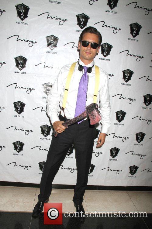 Scott Disick, American Psycho, Halloween Event, Nighclub, Mirage Hotel and Casino 5