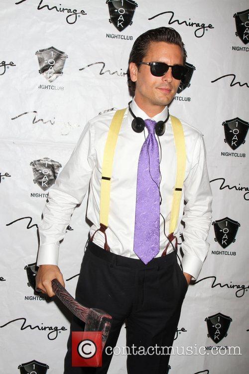 Scott Disick, American Psycho, Halloween Event, Nighclub, Mirage Hotel and Casino 2