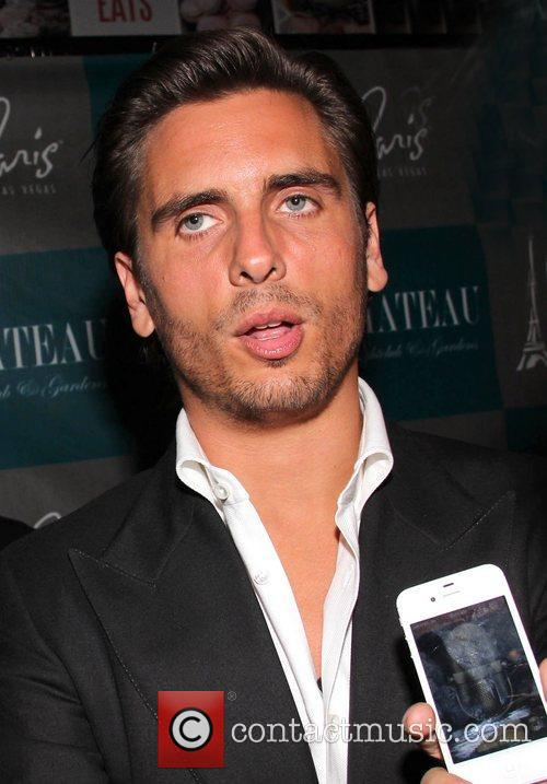 Scott Disick is interviewed on the red carpet...