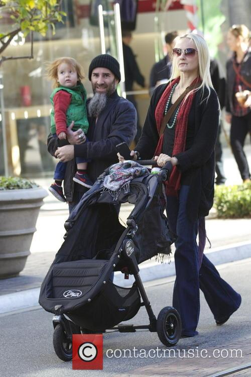 Anthrax guitarist Scott Ian and his family out...
