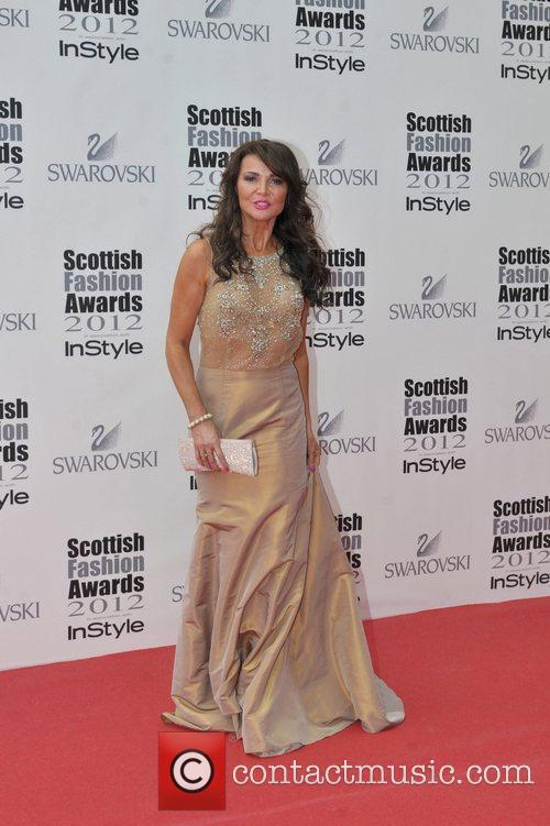 Lizzie Cundy Scottish Fashion Awards held at the...
