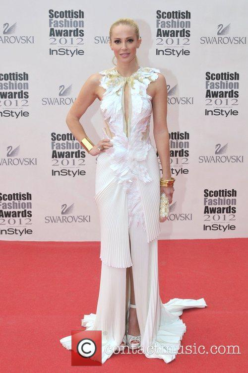 Louise Linton Scottish Fashion Awards held at the...