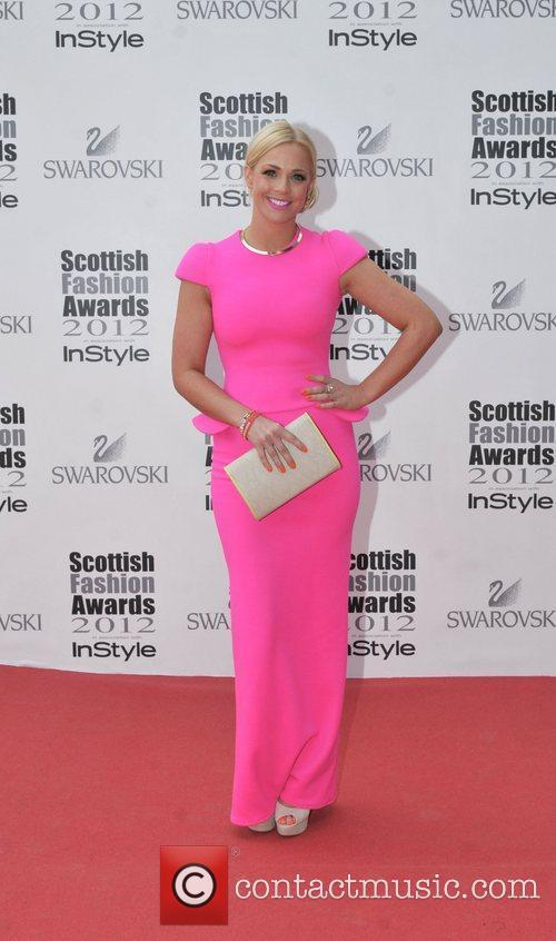 Cat Cubie Scottish Fashion Awards held at the...