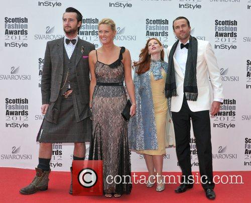 Guests Scottish Fashion Awards held at the SECC...