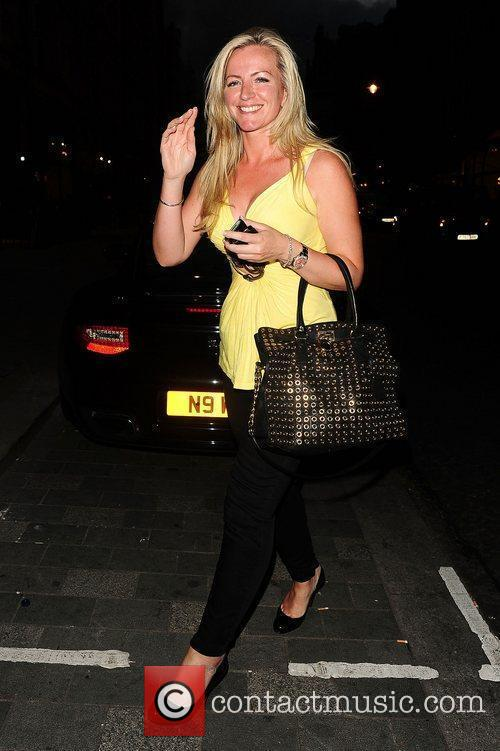 Michelle Mone and Scott's Restaurant 4