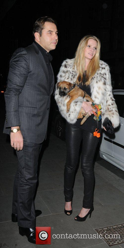David Walliams, Lara Stone, Scott's Restaurant