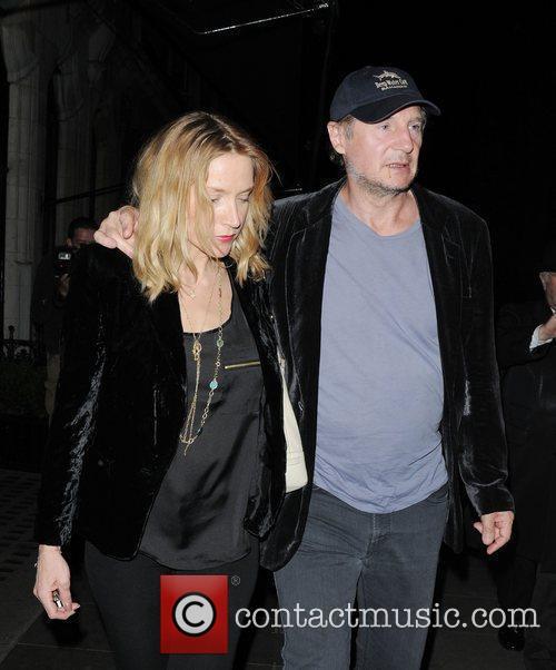 Liam Neeson and Scott's Restaurant 12