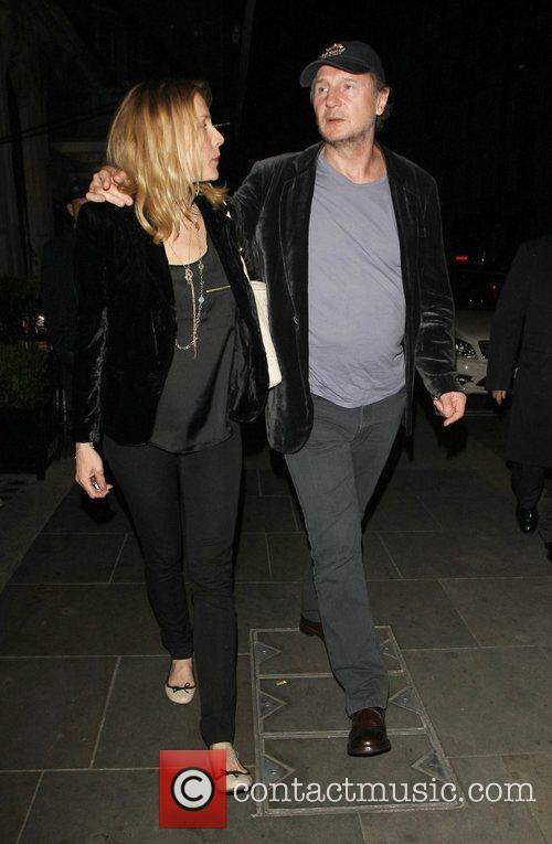 Liam Neeson, Freya and Scott's Restaurant 5