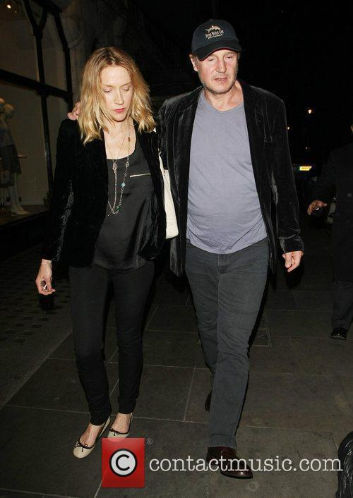 Liam Neeson, Freya and Scott's Restaurant 6