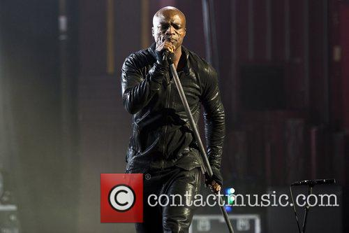 Seal  performing live at the Apollo London,...