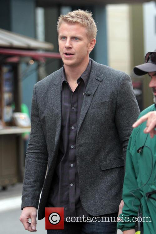 'The Bachelor' star Sean Lowe at The Grove...