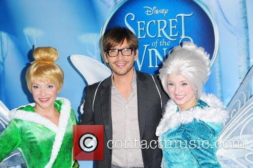 Ken Paves attends the premiere of Disney's