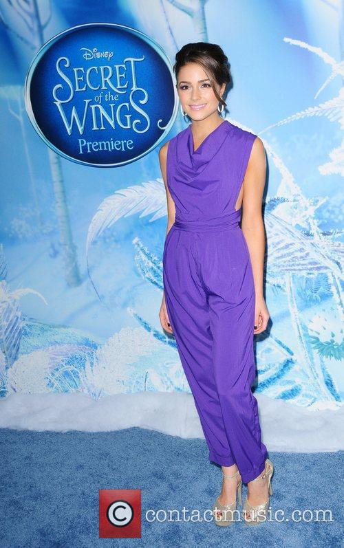 Oliva Culpo attends the premiere of Disney's