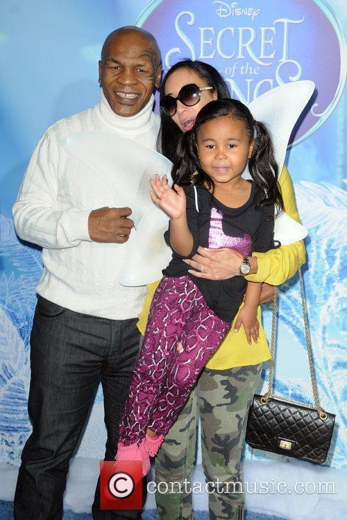 Mike Tyson, Kiki Spicer and Milan Tyson Premiere...