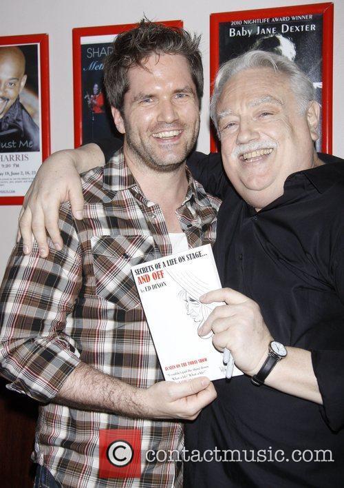 Aaron Ramey and Ed Dixon Post show celebration/book...