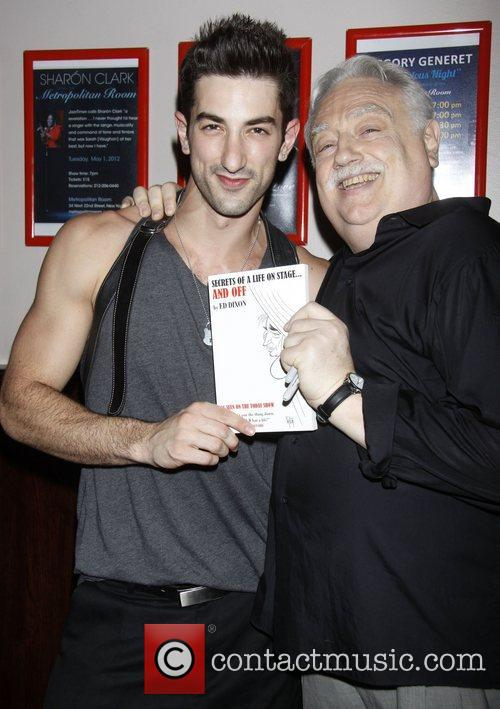 Brandon Rubendall and Ed Dixon Post show celebration/book...