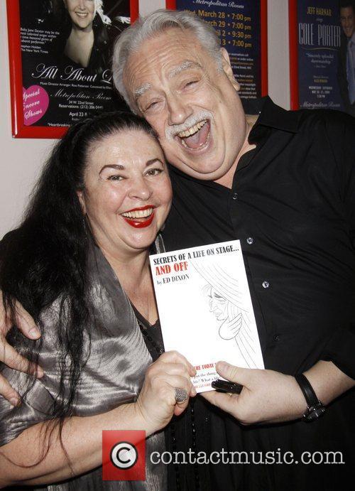 Catherine Malfitano and Ed Dixon Post show celebration/book...