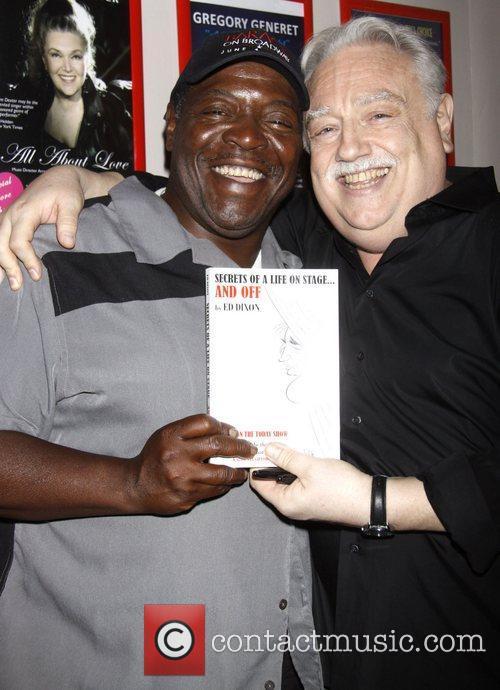 Chuck Cooper and Ed Dixon Post show celebration/book...