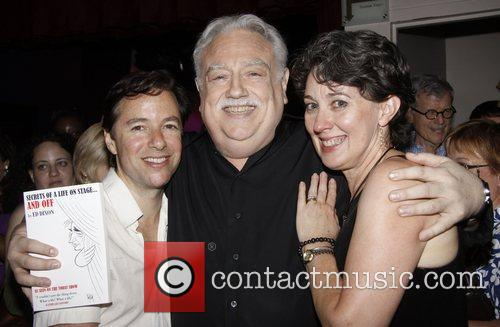 Gordon Greenberg, Ed Dixon and Donna Lynn Cooper...