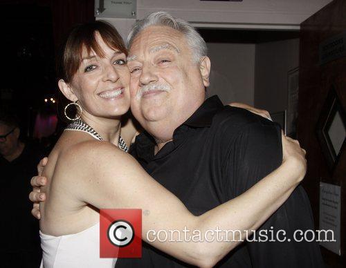 Julia Murney and Ed Dixon Post show celebration/book...