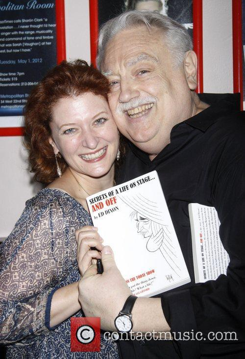 Kerry O'Malley and Ed Dixon Post show celebration/book...