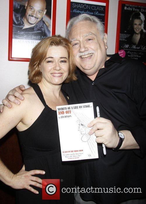 Leslie Becker and Ed Dixon Post show celebration/book...