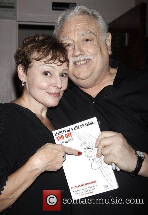 Linda Balgord and Ed Dixon Post show celebration/book...