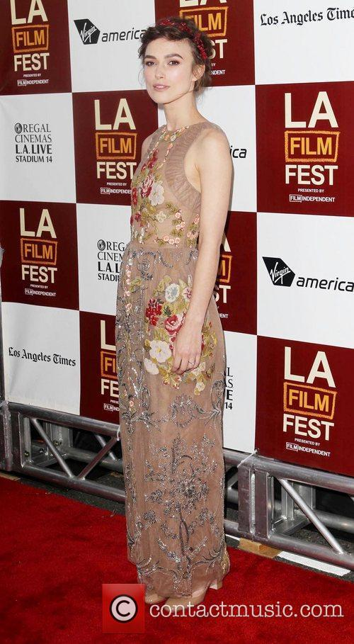 Keira Knightley and Los Angeles Film Festival 2