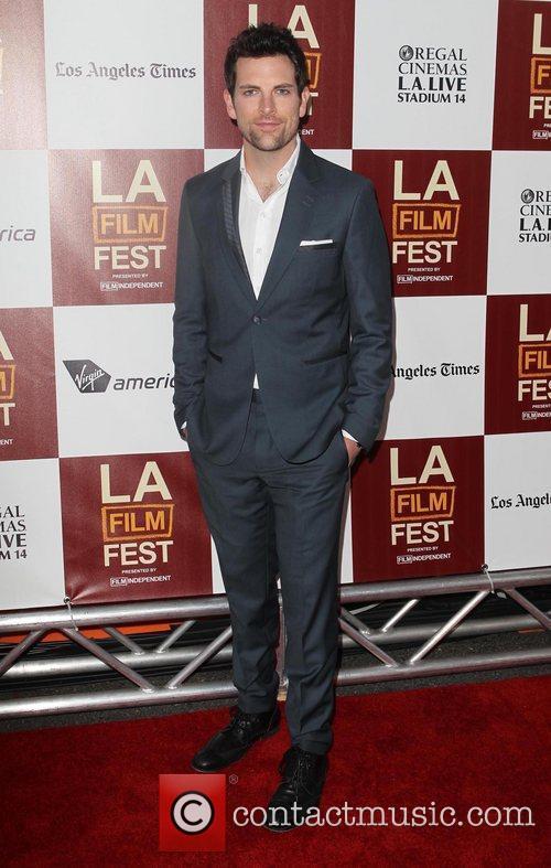 Chris Mann 2012 Los Angeles Film Festival premiere...