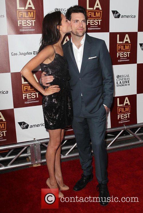 Laura Perloe, Chris Mann 2012 Los Angeles Film...