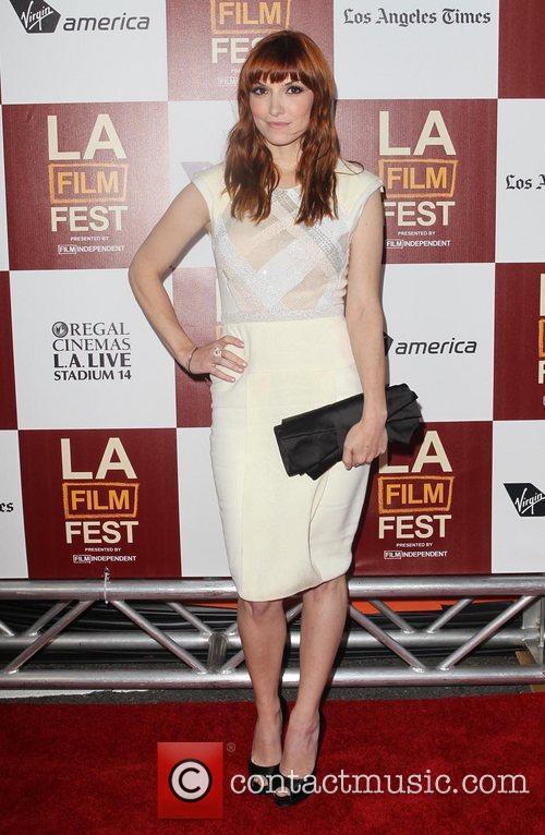 Lorene Scafaria 2012 Los Angeles Film Festival premiere...