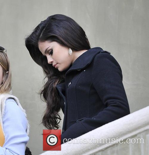 Selena Gomez and Beverly Hilton Hotel 2