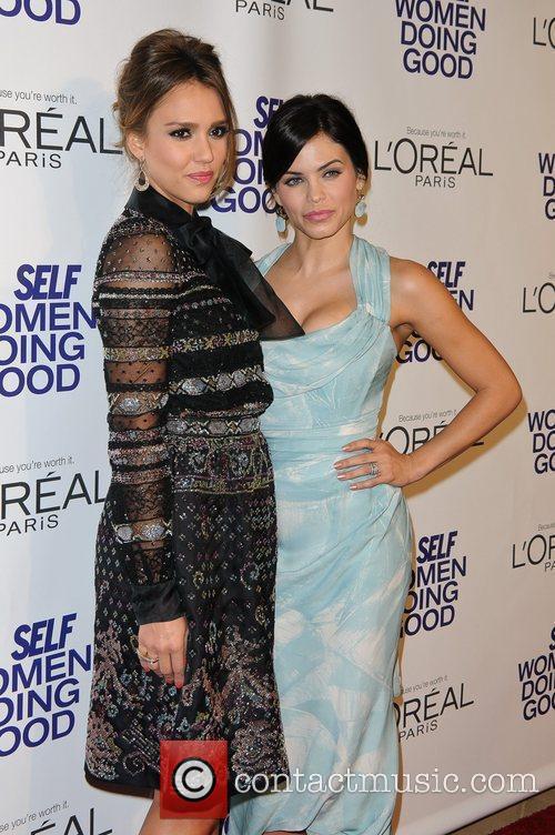 Jessica Alba, Jenna Dewan