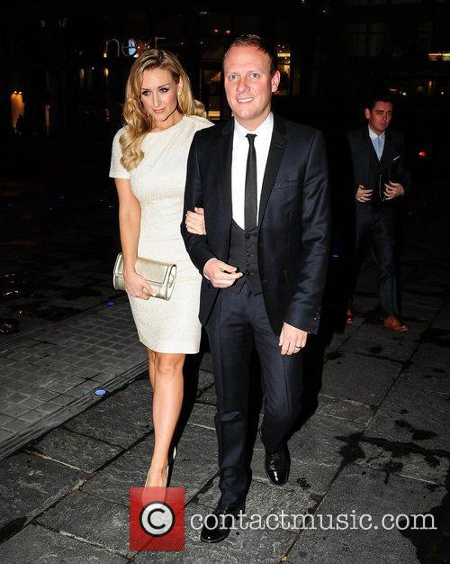 Catherine Tyldesley and Antony Cotton at Selfridge's 10th...