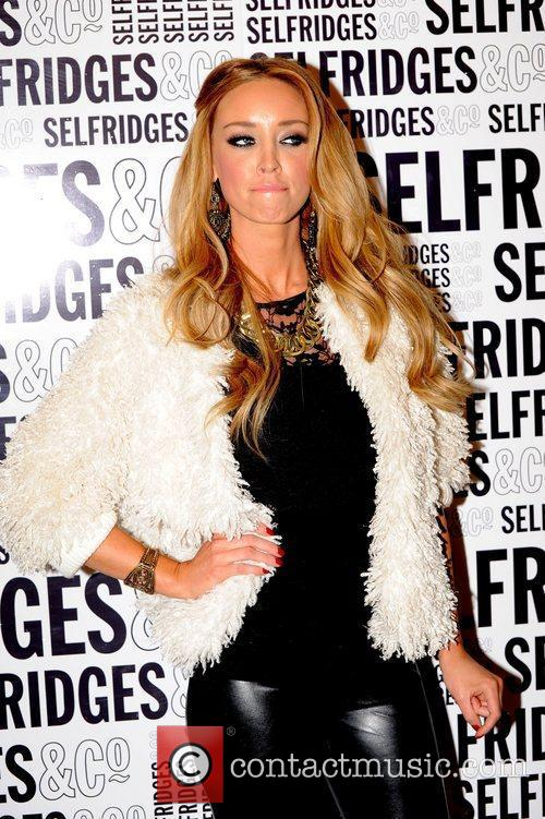Lauren Pope and Selfridges 5