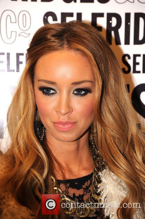 Lauren Pope and Selfridges 11