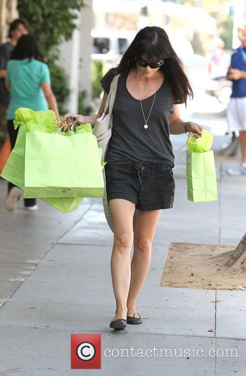 selma blair out shopping los angeles california   010812 4016675