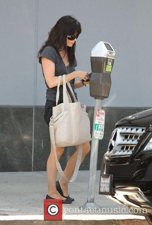 Selma Blair out shopping